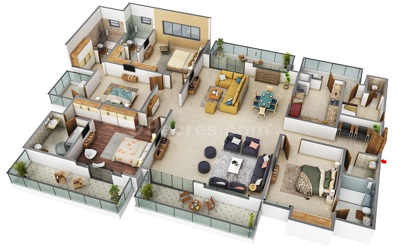 Adani M2k Projects Llp Adani M2k Oyster Grande Floor Plan Sector 102 Gurgaon