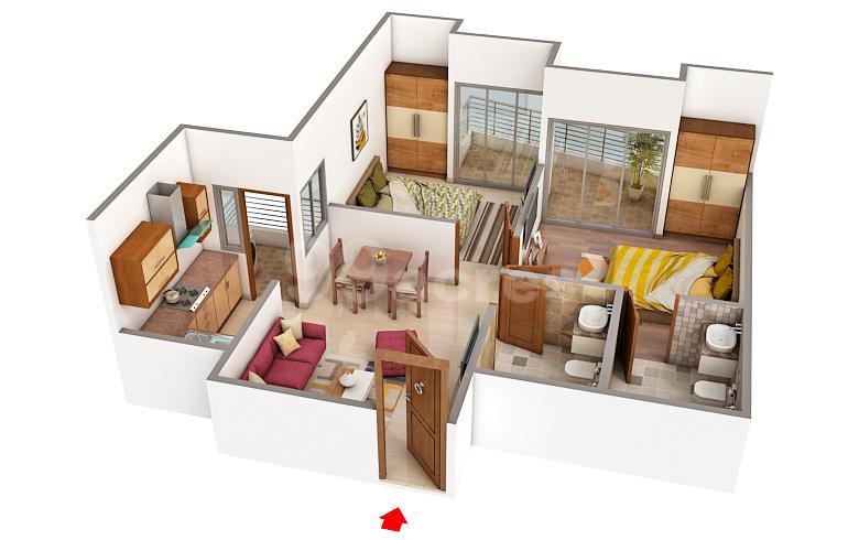 Ajnara Group Ajnara Le Garden Floor Plan Greater Noida West