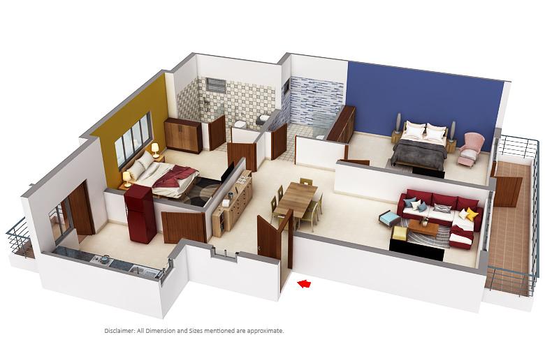 Dlf Builders Dlf The Valley Floor Plan Sector 3 Panchkula