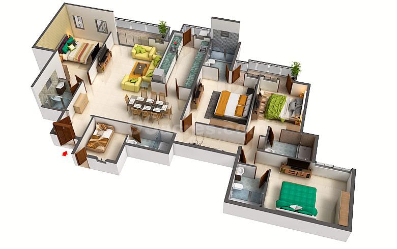Dlf Builders Dlf Westend Heights Floor Plan Dlf City Phase 5 Gurgaon
