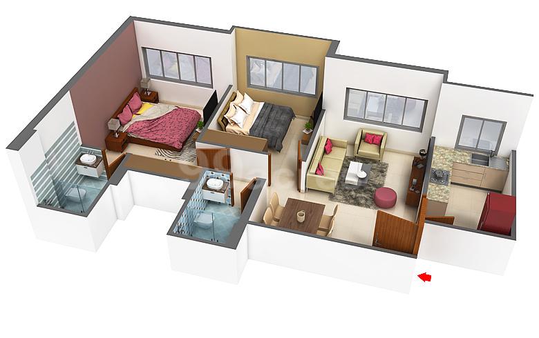 Hiranandani Developers Hiranandani Eagleridge Floor Plan Hiranandani Estate Mumbai Thane