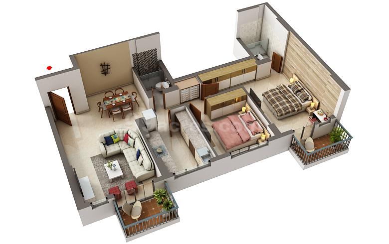 Dlf Builders Dlf New Town Heights Kochi Floor Plan Kakkanad Kochi