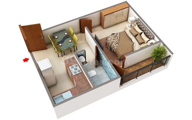 Bb Enterprise Deluxe Home Apartment Floor Plan Sodepur Kolkata North