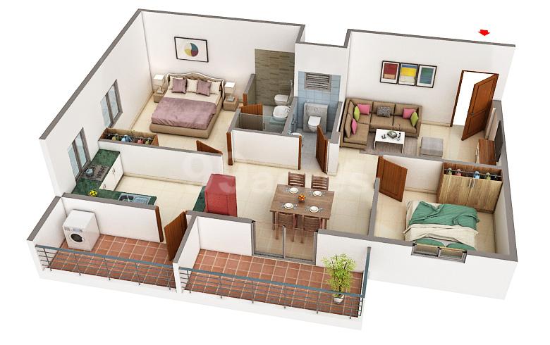 Adithi Projects Adithi Emerald Floor Plan Varthur Bangalore East