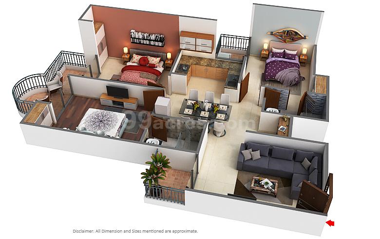 Ajnara Group Grand Ajnara Heritage Floor Plan Sector 74 Noida