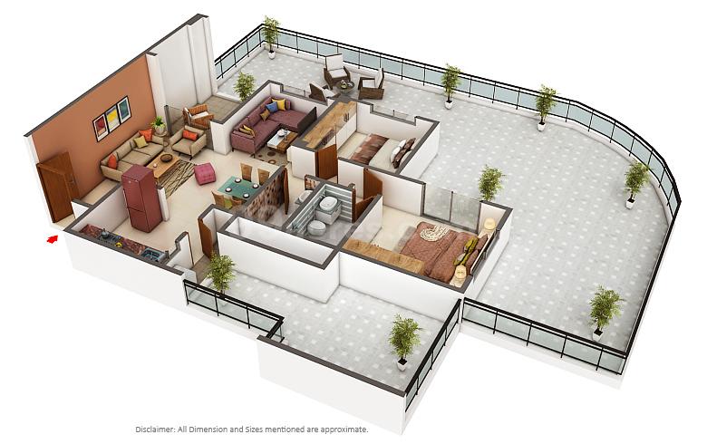 Paranjape Builders Paranjape Abhiruchi Parisar Floor Plan Dhayari Pune