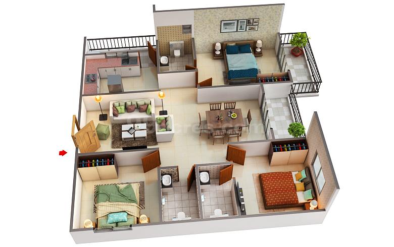 Candeur Constructions Candeur Landmark Floor Plan Varthur Bangalore East