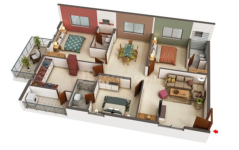 Mk Builders Vishakhapatnam Mk Gold Coast Floor Plan Yendada Visakhapatnam