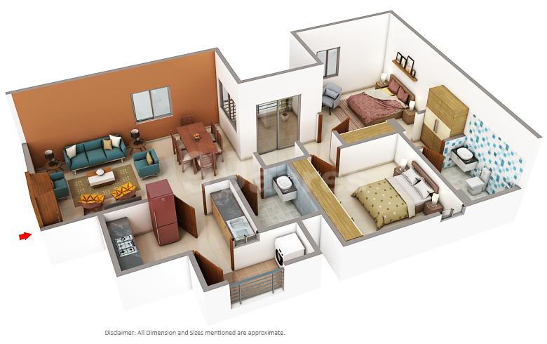 Vatika Group Vatika Boulevard Residences And Heights Floor Plan Sector 83 Gurgaon
