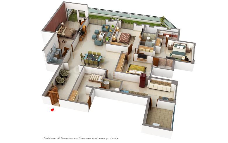 Dlf Builders Dlf Trinity Towers Floor Plan Dlf City Phase 5 Gurgaon