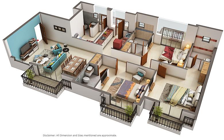 Ats Group Ats Destinaire Floor Plan Sector 1 Greater Noida West