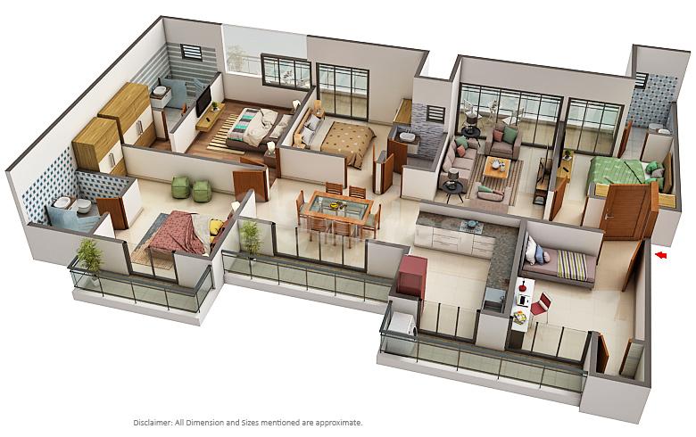 The Antriksh Group Antriksh Forest Floor Plan Sector 77 Noida