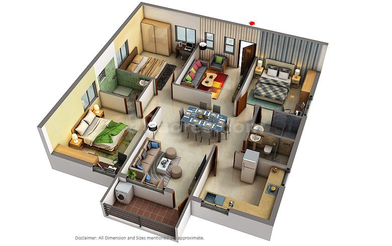 Aditya Construction Company Builders Aditya Empress Towers Floor Plan Jubilee Hills Hyderabad